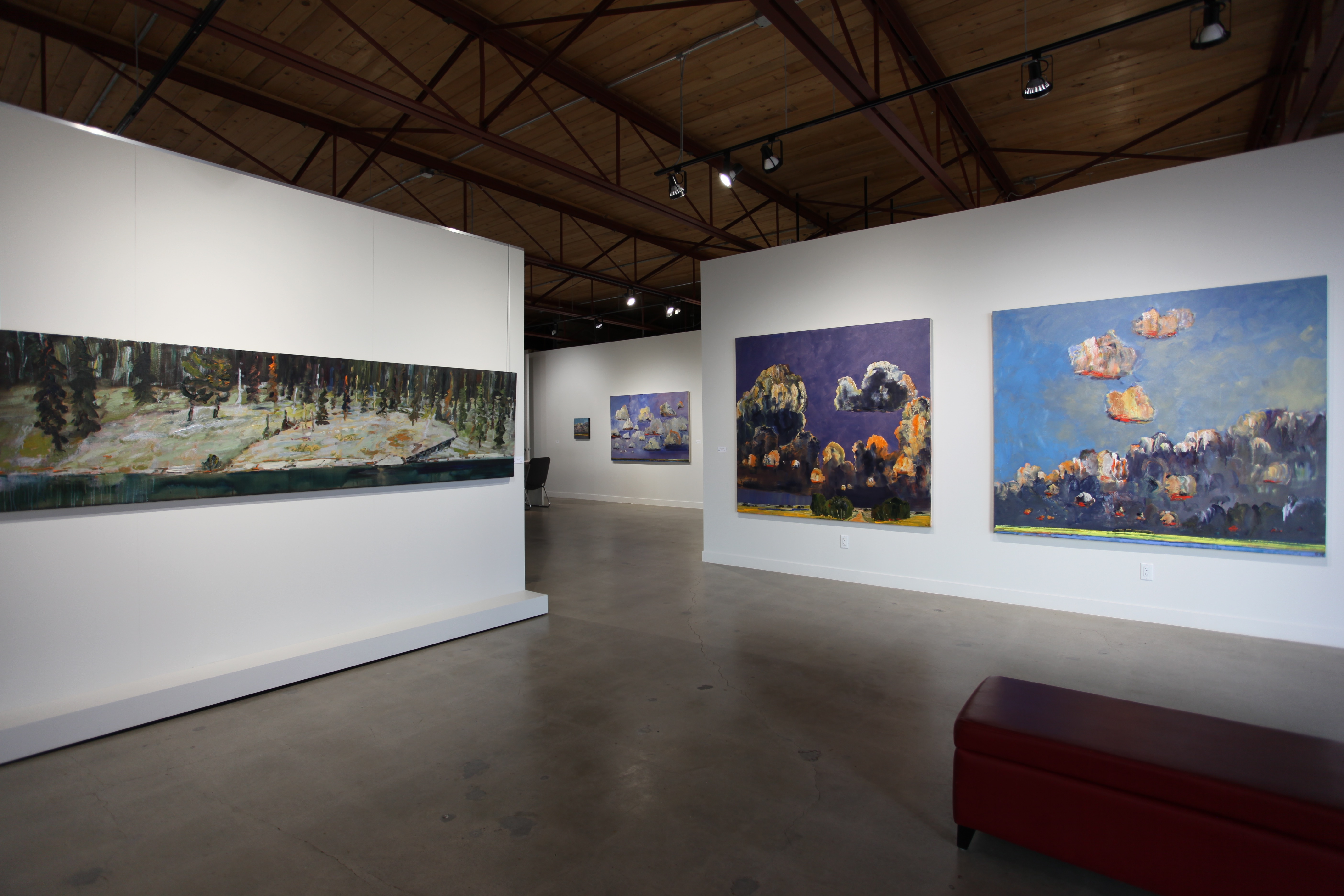16 Peter Robertson Gallery Installation 2015