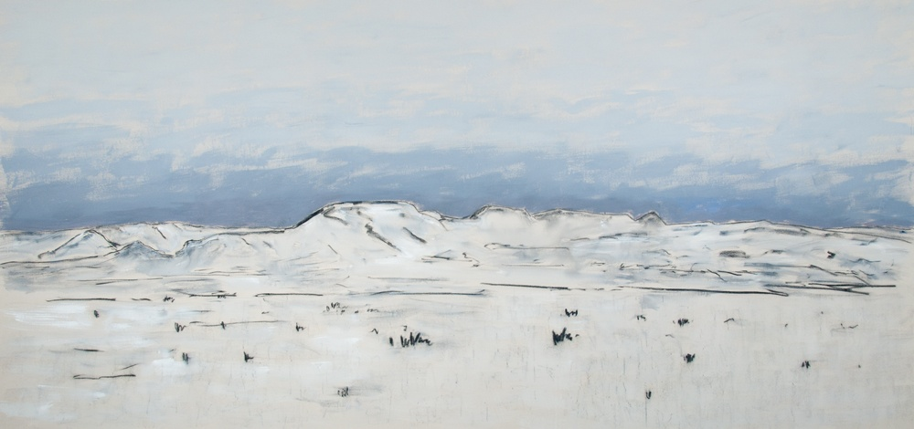 Snow-Covered-Hills-2011-64-140-Charcoal-acrylic-canvas